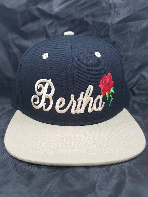 Bertha Snapback Hat Grateful Dead two tone flat bill 42 hat  b4d3bba198d2