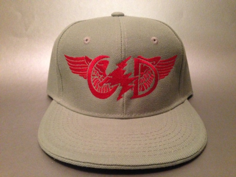 9d2ea7f12ac607 Get Shit Done Wings Fitted Hat made to order Grateful Dead