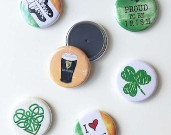 I Love Ireland Magnets, gift set