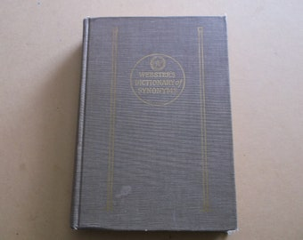 d32b2dffae08 1951 Webster s Dictionary of Synonyms