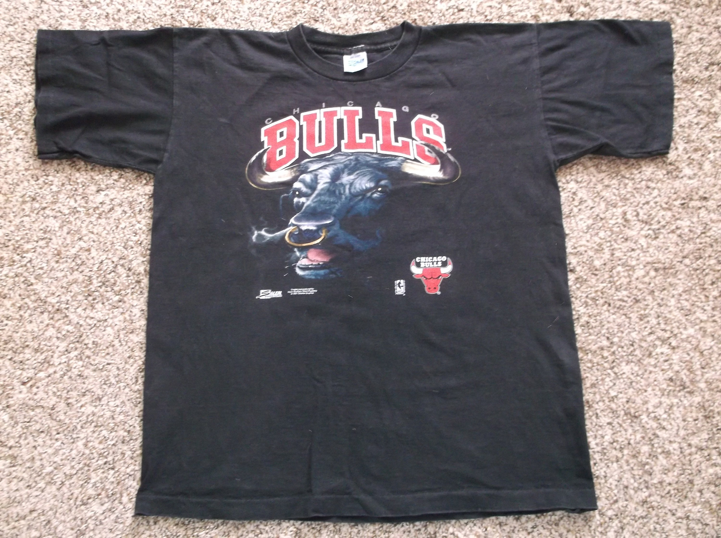 0f2eed5ca ... vintage nba 1991 chicago bulls t shirt size small 18 20 etsy ...