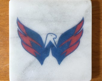 Stanley Cup Champs Washington Capitals Coasters Set of 4