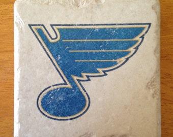 St Louis Blues Coasters Set of 4