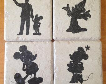Disney Coasters Set of 4