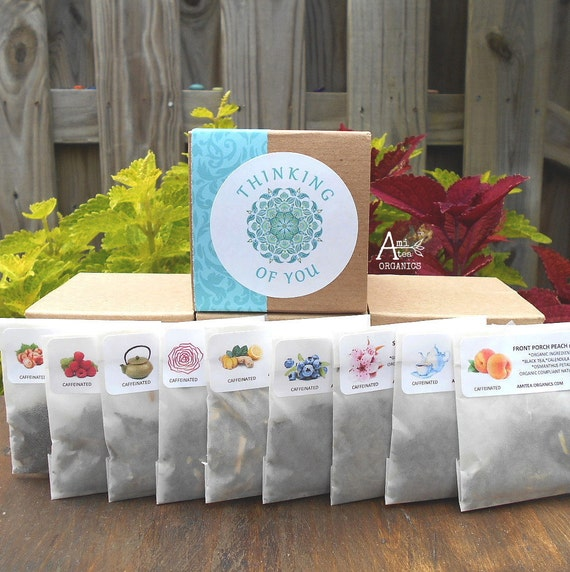 THINKING OF YOU, Tea Gift Box, Organic