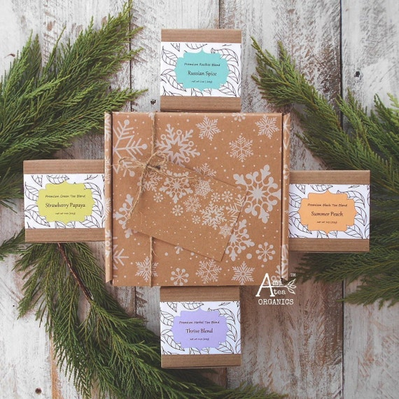 Christmas Tea, Gift Set, Organic