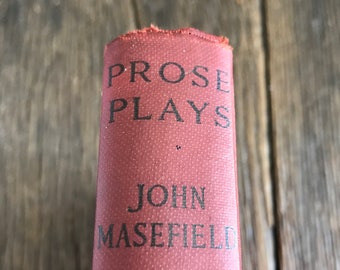 Eight Great Tragedies 1925 Prose Plays By John Masef