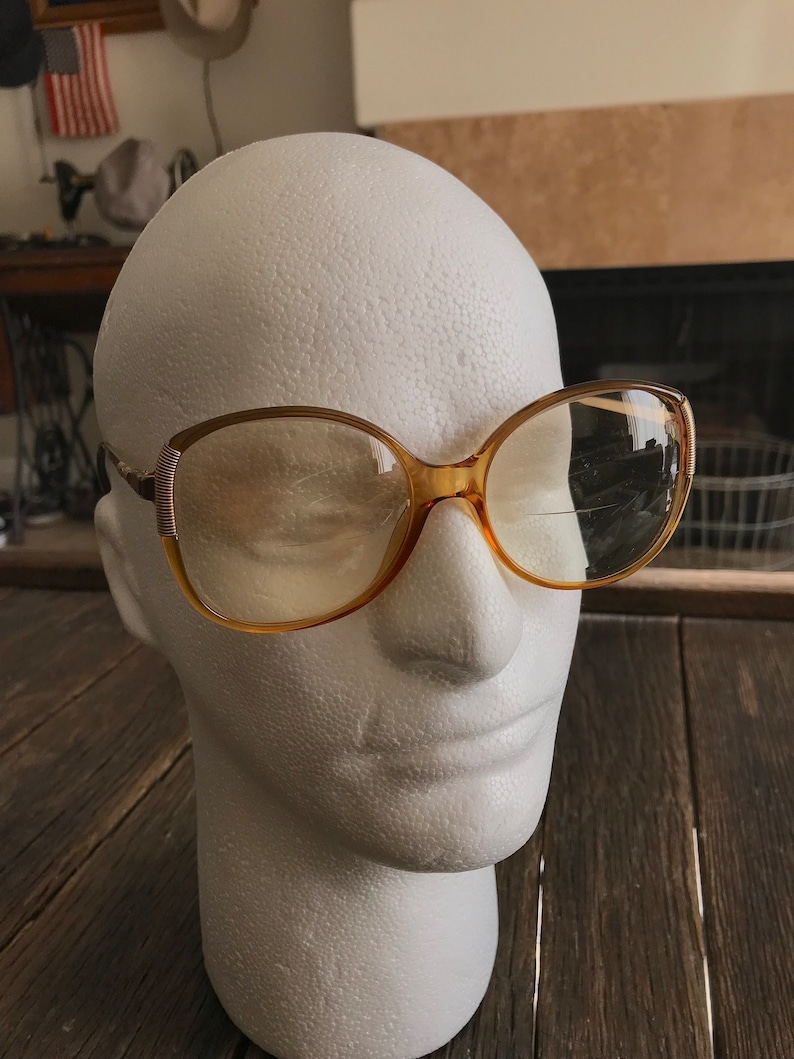 32c449cdb032 Vintage Christian Dior Glasses Old Lady Style Eyeglasses