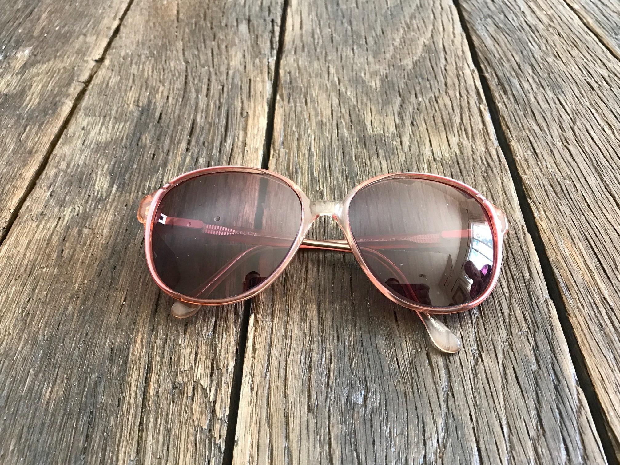 Vintage Large Old Lady Style Eyeglasses Vintage Sunglasses