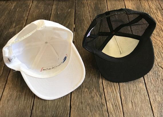 Vintage Trucker Hats - 2 Vintage Oil Company Hats… - image 4