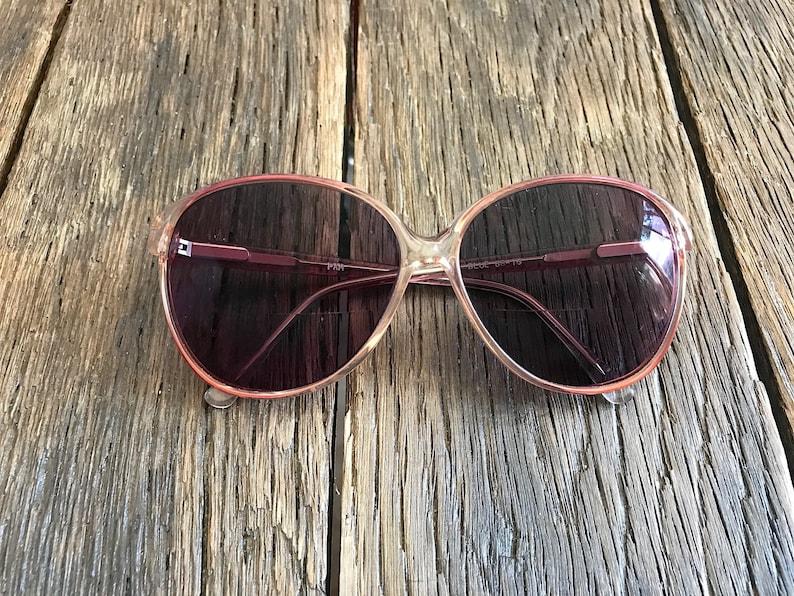 f865b7cc2 Vintage Large Old Lady Style Eyeglasses Vintage Sunglasses | Etsy