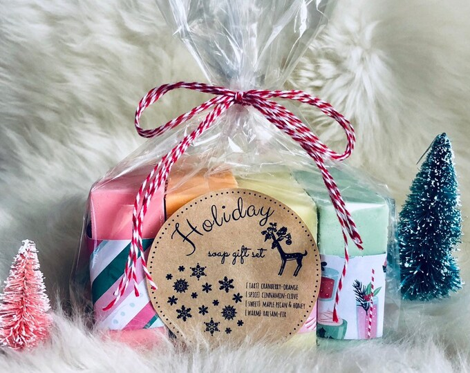 Featured listing image: Holiday Soap Gift Set
