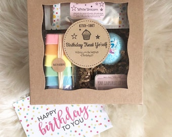 Birthday Treat Yo'self Deluxe Gift Box - Wishing You the Happiest of Birthdays {price includes shipping}