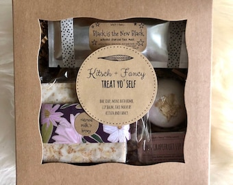 Rustic Treat Yo'self Gift Box