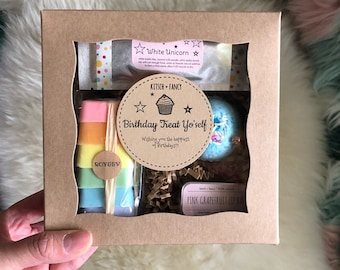Birthday gift for Niece: Unicorn Birthday Gift Box, Niece Gift from Aunt, Gift for Niece Necklace, Niece Birthday Gift ideas