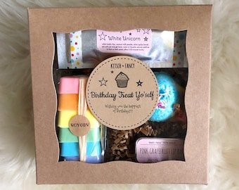 Birthday Treat Yo'self Deluxe Rainbow Gift Box