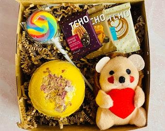 Valentine Hedgehog Baby Gift Set