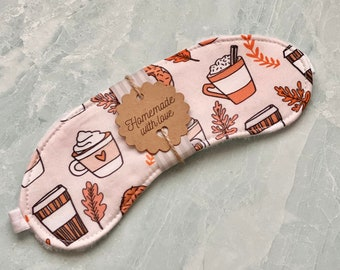 Cozy Coffee Sleep Mask