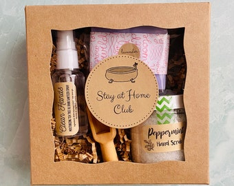 Stay At Home Club Self Care Gift Box