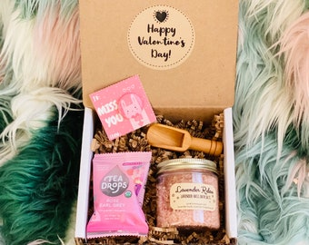 Valentine Gift Set for Her: Galentines Treat Box