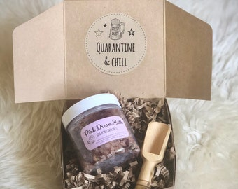 Quarantine and Chill: Bath Salt Gift Set