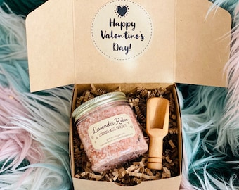 Valentine's Day Bath Salt Gift Box