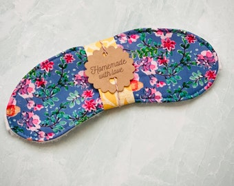 Lavender Florals Sleep Mask