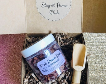 Stay At Home Club: Bath Salt Gift