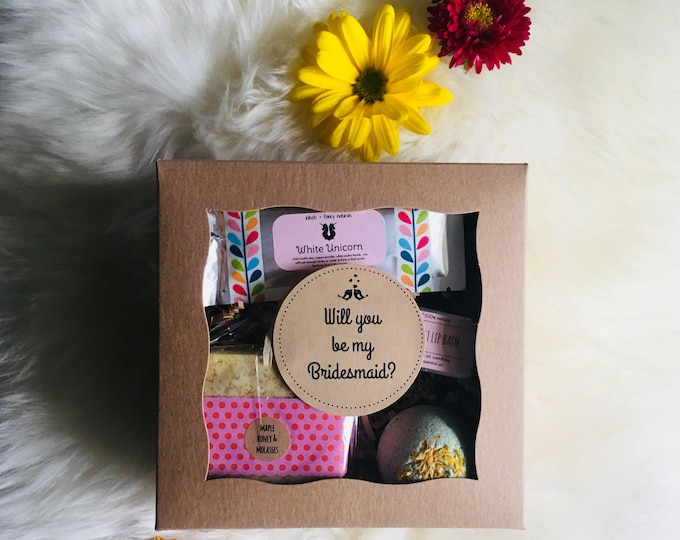 Featured listing image: Will You Be My Bridesmaid? Proposal Gift Box