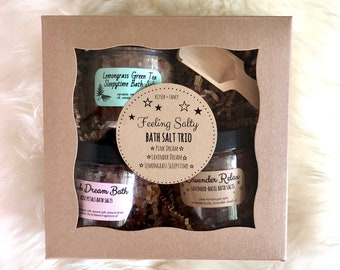 Feelin' Salty: Bath Salts Gift Set