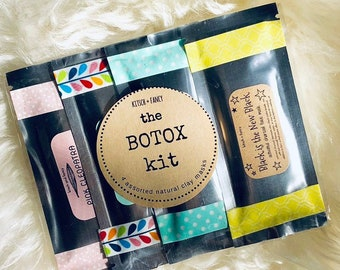 Botox Kit: 4 face masks