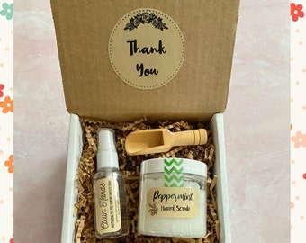 Thank You Gift Box: Clean Hands Set