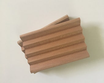 Spanish Cedarwood Handcut Soap Dish