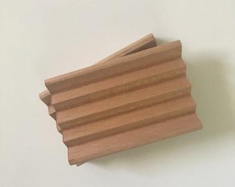 Spanish Cedarwood Handcut Soap Dish