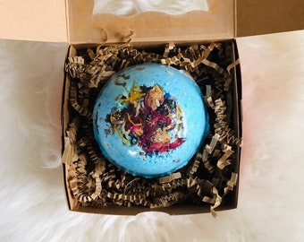 Gift Wrapped Extra Large Bath Bomb Birthday Gift with free shipping