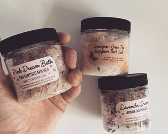 BUY 4 GET 1 Free: Bath Salts price includes free shipping!