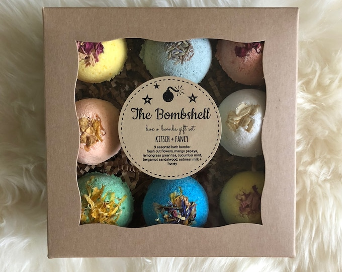 Featured listing image: Bombshell Gift Set: 9 bath bombs