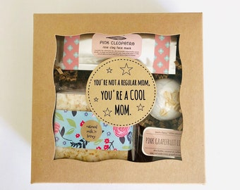 Baby Shower Gift: You're a Cool Mom gift box, gift for new mom, new mom gift, free shipping gift, free shipping baby shower gift