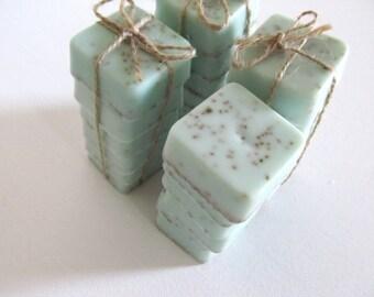 Fresh Linen Mini Guest Soap Set of 6