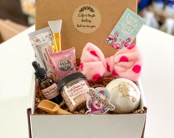 Deluxe Relaxation Box with Choice of Label: Thinking of You Gift