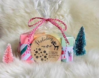 CYBER MONDAY SALE Buy 4 Get 1 Free Holiday Soap Set