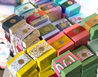 Colorful Handmade Bar Soap