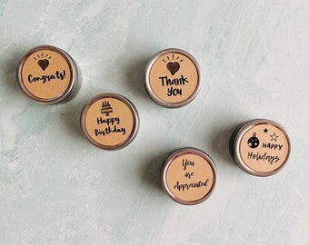 Candle Tin Favors - Mini Candles Bulk for Wedding Favors, Baby Shower Candle Favors, Birthday Candle Party Favors