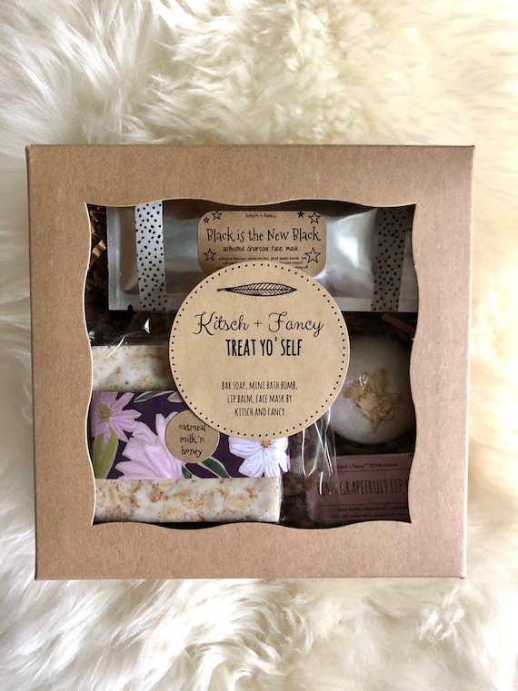 Rustic Gift For Her Rustic Gift Spa Gift Set Spa Box Gift Etsy