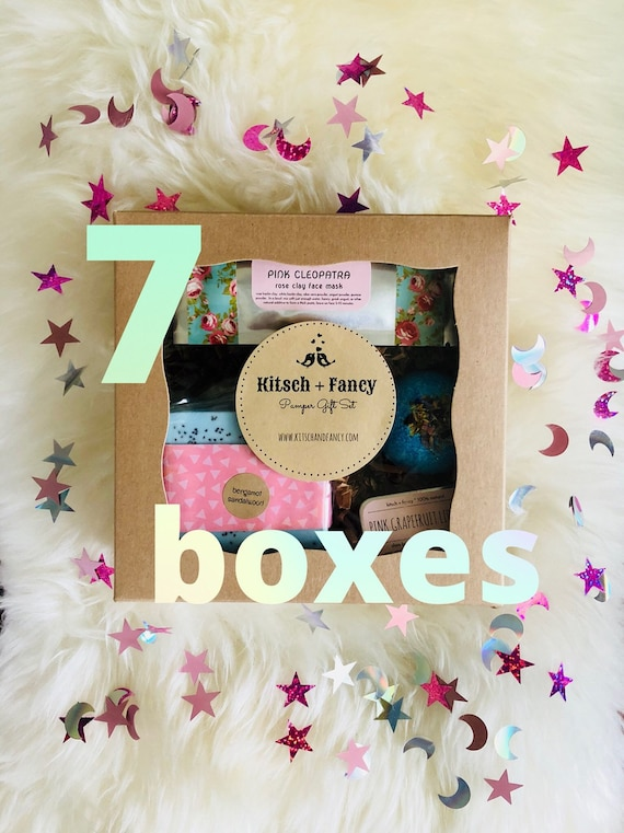 7 Bridesmaid Gift Boxes Gifts For Bridesmaids Thank You Gift Etsy