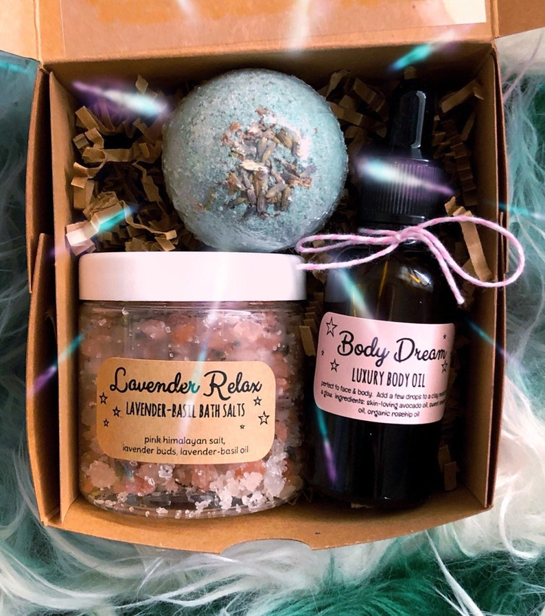 Mothers Day Self Care Spa Gift Set Bath Gift Box for mom image 0
