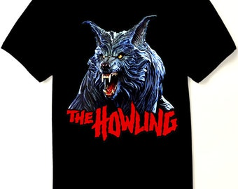 15ab159a044 THE HOWLING Movie T Shirt - Werewolf Horror Classic - New