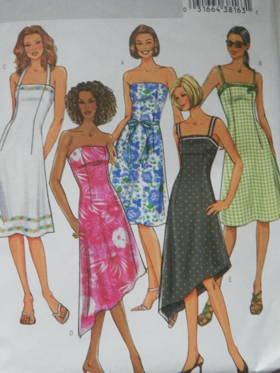 Plus Size Dress Butterick 4283 Pattern Sizes 18-22