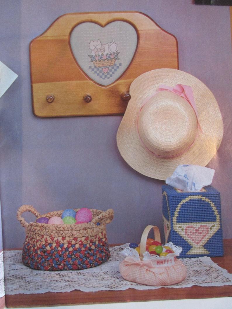 Vintage Craft Art Needlework Digest  Book April 1988