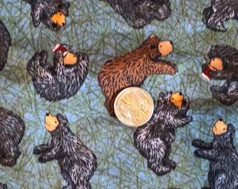 Bears Fabric Cotton